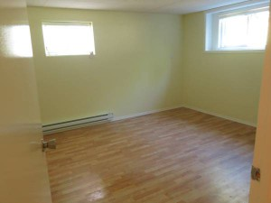 Intérieur d'un basement