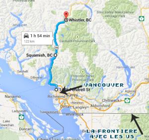 Trip au Nord de Vancouver