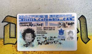 Devinez quel logo se cache sous ce permis canadien !