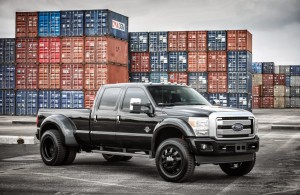 Le Ford F350, plus de 6m de long, plus de 2m de haut...